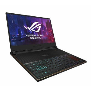 "ASUS ROG Zephyrus S Ultra Slim Gaming Laptop, 15.6"" 144Hz IPS-Type Full HD, GeForce RTX 2080, Intel Core i7-8750H CPU, 16GB DDR4, 512GB PCIe Nvme SSD, Aura Sync RGB, Windows 10 Pro"